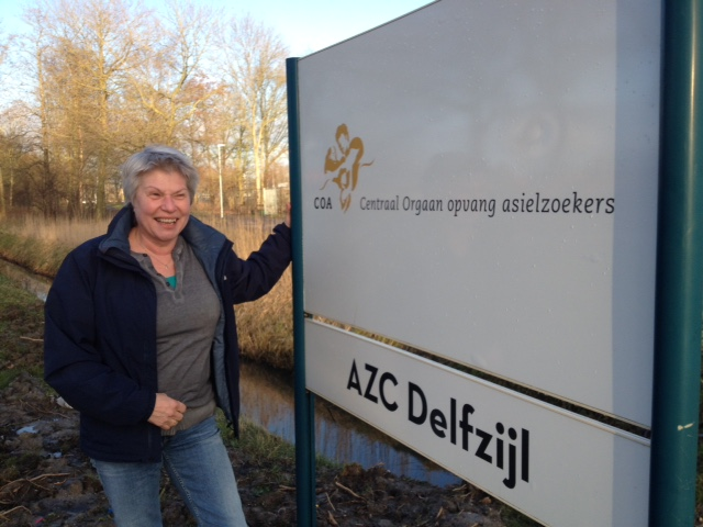Jolanda Zuijderduin (locatiemanager AZC Delfzijl)