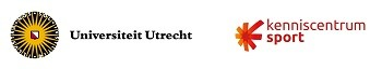 Logo's Universiteit Utrecht en Kenniscentrum Sport