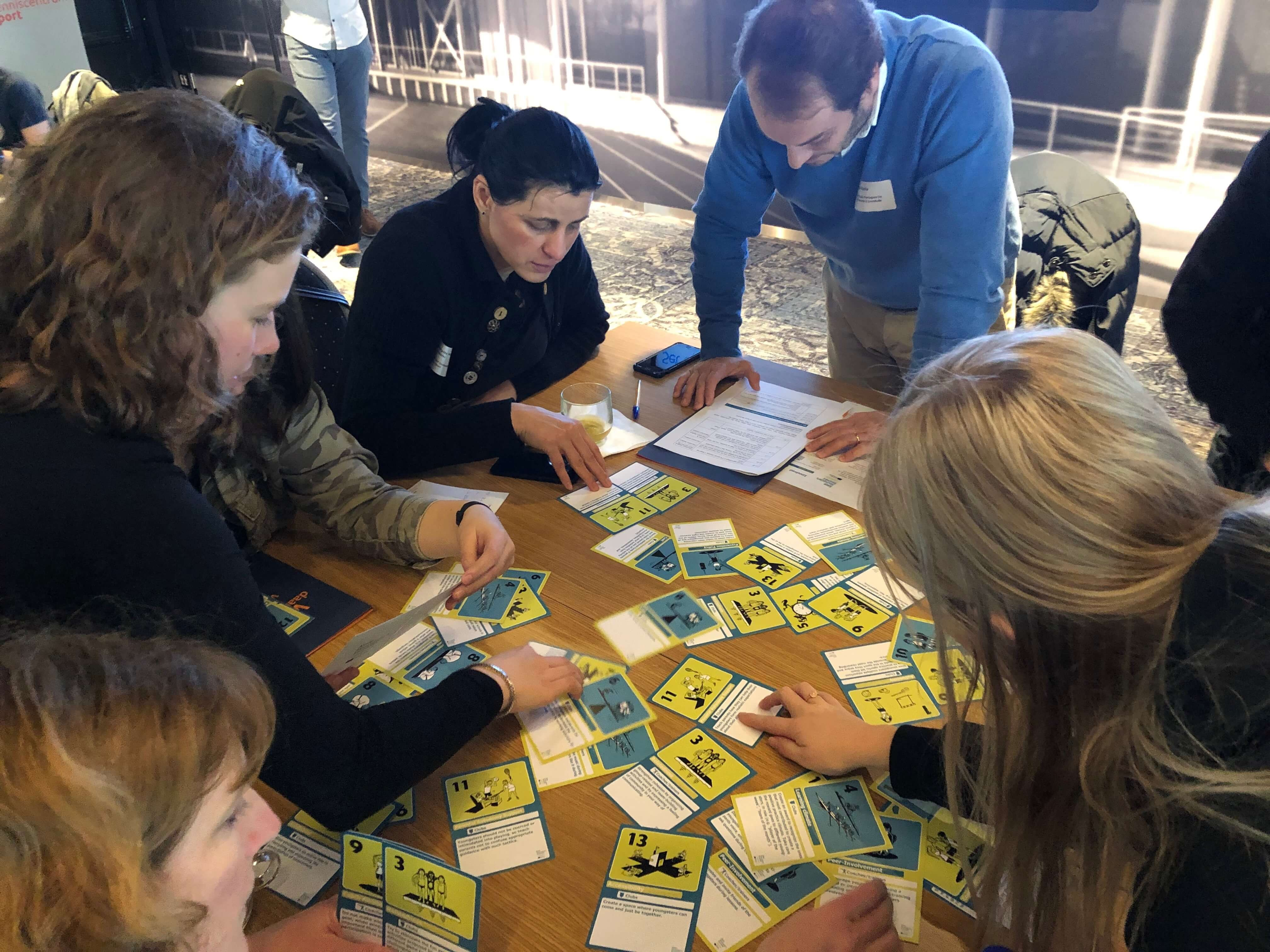 interactive session card games Keep Youngsters Involved